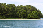 Peucang Island beach [java_0434]
