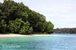 Peucang Island beach [java_0439]