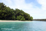 Peucang Island beach [java_0446]