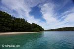 Peucang Island beach [java_0450]