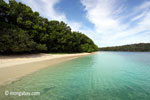 Peucang Island beach [java_0458]