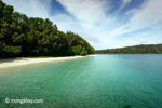 Peucang Island beach [java_0468]