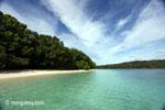Peucang Island beach [java_0472]