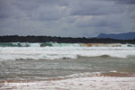 Indian Ocean surf breaking on the Western-most part of Java