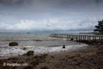 Dock and beach near Sunur [java_0838]