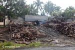 Sawmill for teak