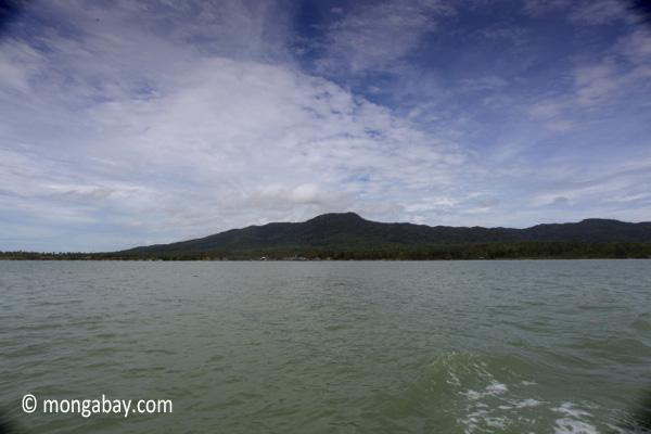 Peak in Ujung Kulon