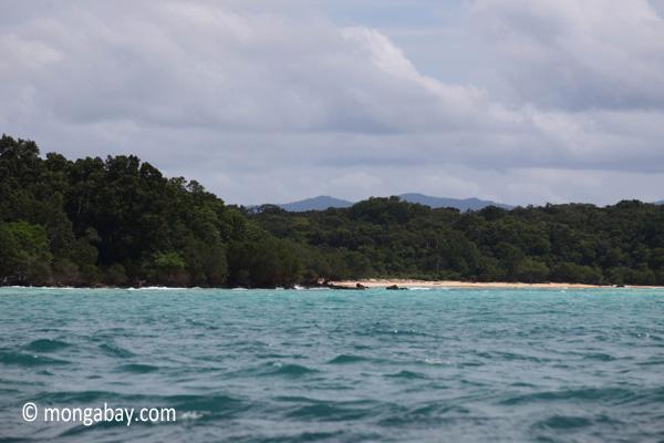 Coastline of Ujung Kulon [java_0387]