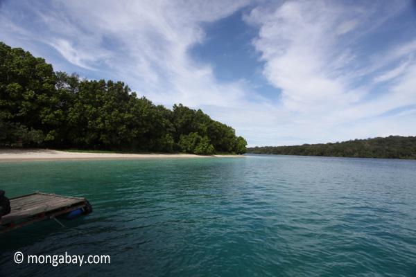 Peucang Island beach [java_0444]