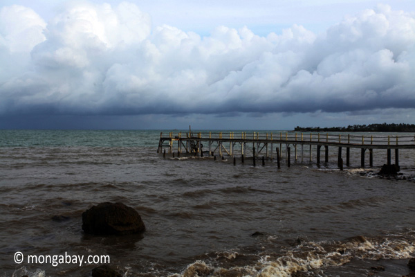 Dock and beach near Sunur [java_0842]
