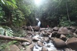 Riam Berasap waterfall in Gunung Palung National Park [kalbar_0765]