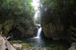 Riam Berasap waterfall in Gunung Palung National Park [kalbar_0772]