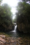 Riam Berasap waterfall in Gunung Palung National Park [kalbar_0774]
