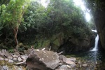 Riam Berasap waterfall in Gunung Palung National Park [kalbar_0781]