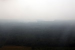 Aerial vew of burning peatlands and forest in Indonesian Borneo [kalbar_1233]