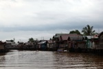 Stilt houses in Banjarmasin