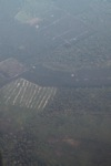 Deforestation and degradation as seen from an airplane in South Kalimantan [kalsel_0244]