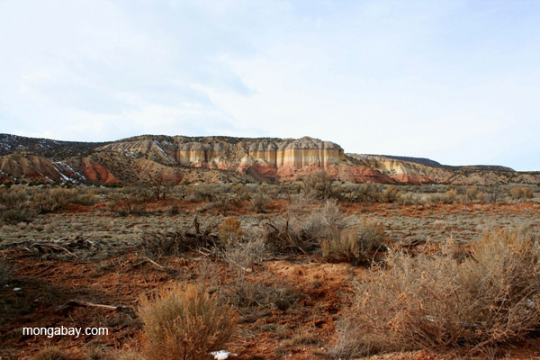 Landscape of northern New Mexico