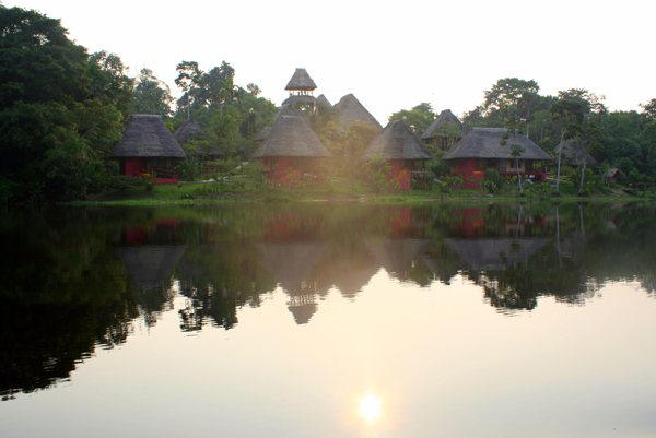 Napo Wildlife Center Lodge in Yasuni National Park in the Ecuadorian Amazon