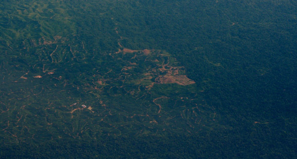 Patterns of deforestation in Sabah, Malaysia