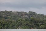 Radio tower rising above the rainforest on Barro Colorado Island [panama_0089]