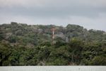 Radio tower rising above the rainforest on Barro Colorado Island