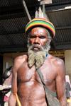 Papuan man in Wamena [papua_0023]