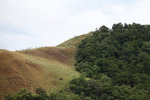 Deforested hillside near Jayapura along Lake Sentani