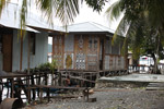 Lake Sentani homes