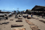 Papuans selling firewood in Wamena's central market [papua_5021]