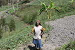 Dani woman in the highlands of New Guinea