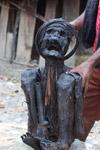 Mummified man in New Guinea