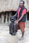 Mummified Papuan man named Werapak Elosarek (Kain) [papua_5355]