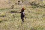 Dani man hunting [papua_5420]