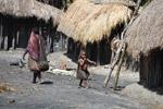 Dani child in a Papuan village [papua_5765]