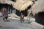 Dani child in a Papuan village [papua_5766]