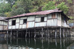 Houses on Lake Sentani