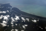 Aerial view of a jungle river delta in New Guinea [west-papua_5015]