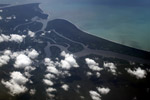 Aerial view of a jungle river delta in New Guinea [west-papua_5016]