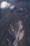 Landslide in New Guinea