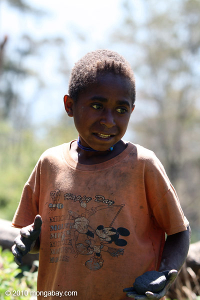Dani boy in the highlands of New Guinea [papua_5210]