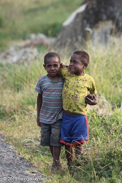 Papuan kids [papua_5332]