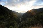 Rainforest valley in the upper Amazon