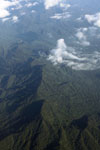 Amazon rain forest meeting the Andes