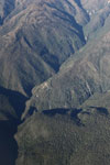 Road to Wayqecha and Manu seen from an airplane [peru_aerial_0070]