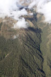 High mountain forest near the tree-line in the Amazon Basin [peru_aerial_0102]