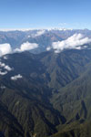 Amazon rainforest and Andean peaks [peru_aerial_0122]