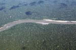 Amazon rainforest river in Peru
