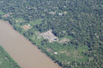 Deforestation by ranchers in the Amazon