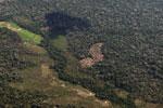 Small-scale deforestation in the Amazon [peru_aerial_0640]